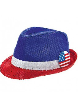 4th of July, Patriotic Fedora Hat